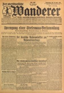 Der Oberschlesische Wanderer, 1928, Jg. 101, Nr. 97