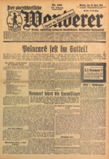 Der Oberschlesische Wanderer, 1928, Jg. 101, Nr. 100