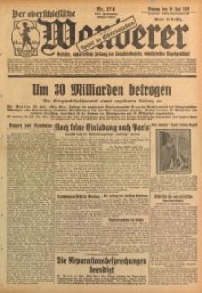 Der Oberschlesische Wanderer, 1928, Jg. 101, Nr. 174