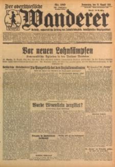 Der Oberschlesische Wanderer, 1928, Jg. 101, Nr. 189
