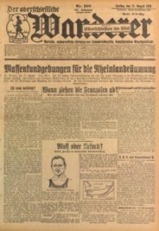 Der Oberschlesische Wanderer, 1928, Jg. 101, Nr. 190