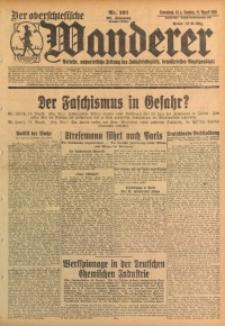 Der Oberschlesische Wanderer, 1928, Jg. 101, Nr. 191