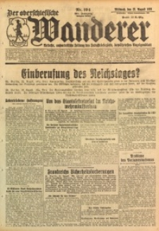 Der Oberschlesische Wanderer, 1928, Jg. 101, Nr. 194