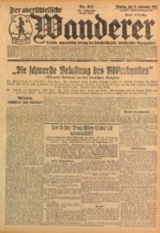 Der Oberschlesische Wanderer, 1928, Jg. 101, Nr. 211