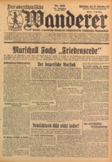 Der Oberschlesische Wanderer, 1928, Jg. 101, Nr. 219