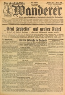 Der Oberschlesische Wanderer, 1928, Jg. 101, Nr. 230