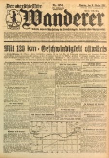 Der Oberschlesische Wanderer, 1928, Jg. 101, Nr. 253