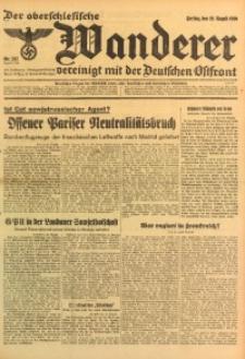 Der Oberschlesische Wanderer, 1936, Jg. 109, Nr. 237
