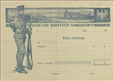 Notatki o sytuacji w gminach czeskich oraz w sprawie wydania akuszerkom obuwia