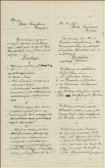 Rezolucje przedłożone Radzie Narodowej Księstwa Cieszyńskiego przez zgromadzenie pozostających bez pracy byłych żołnierzy, 14.01.1919