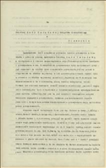 Prośba zgromadzenia urzędników prywatnego handlu i przemysłu w Cieszynie skierowana do Rady Narodowej Księstwa Cieszyńskiego o wydanie zarządzenia dotyczącego przyjęcia bezrobotnych pracowników przez dawnych pracodawców, 15.01.1919
