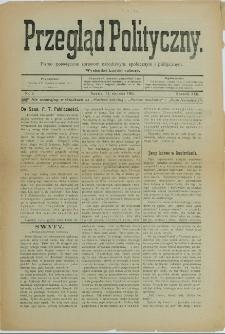 Przegląd Polityczny, 1906, Nry 1-21, 26, 34-35, 37, 39-41, 47-52