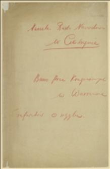 Pismo Rady Narodowej Księstwa Cieszyńskiego do Ministerstwa Spraw Zagranicznych w Warszawie dotyczące wysyłania depesz Delegacji w Paryżu za pośrednictwem radia