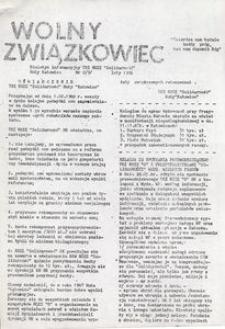 Wolny Związkowiec, 1988, nr 2