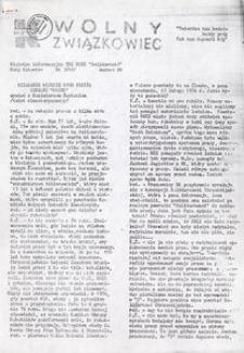 Wolny Związkowiec, 1988, nr 3