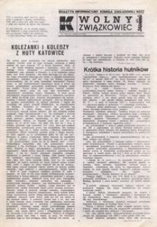 Wolny Związkowiec, 1989, nr 11