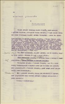 Prośba o interwencję Komisji Międzysojuszniczej w Cieszynie w sprawie wydalenia z Polskiej Ostrawy szewca Józefa Wilczyńskiego