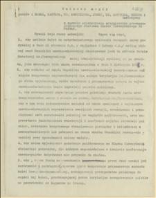 Wniosek nagły posłów: Bobka, Kantora, dr Kunickiego, Jungi, ks. Londzina, Regera i towarzyszy w sprawie ostatecznego uregulowania prawno politycznego stosunku Śląska Cieszyńskiego do Polski