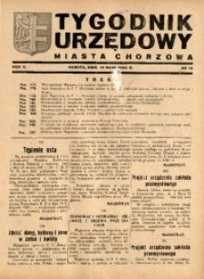 Tygodnik Urzędowy Miasta Chorzów, 1938, R. 5, nr 18