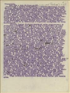 """Tłumaczenie artykułu o charakterze antypolskim dotyczącego konferencji w sprawie Śląska Cieszyńskiego w Krakowie z czeskiego czasopisma """"Duch času"""" z 22 lipca 1919 r."""