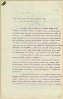 Raport Rady Narodowej Księstwa Cieszyńskiego z dnia 20. kwietnia 1919 wysłany do Komitetu Narodowego polskiego w Paryżu