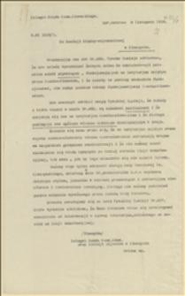 Pismo Delegata Rządu Czesko-Słowackiego przy Komisji Międzysojuszniczej w Cieszynie do tejże Komisji dotyczące polskiego szkolnictwa w części Śląska Cieszyńskiego kontrolowanego przez administrację czeską, Morawska Ostrawa, 09.11.1919