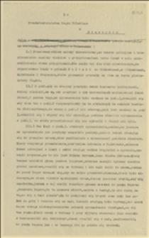 Relacja z wiecu ludności polskiej w Polskiej Ostrawie skierowana do Przedstawicielstwa Rządu Polskiego w Cieszynie, Cieszyn, 16.02.1920 r.