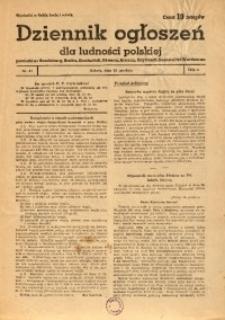Dziennik Ogłoszeń Dla Ludności Polskiej, 1942, nr41