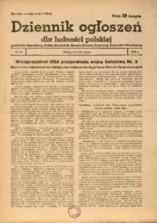 Dziennik Ogłoszeń Dla Ludności Polskiej, 1943, nr22
