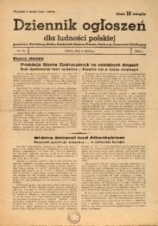 Dziennik Ogłoszeń Dla Ludności Polskiej, 1943, nr26