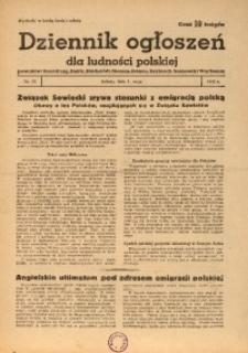 Dziennik Ogłoszeń Dla Ludności Polskiej, 1943, nr34
