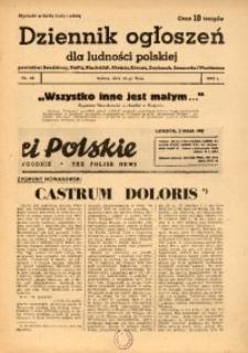 Dziennik Ogłoszeń Dla Ludności Polskiej, 1943, nr60