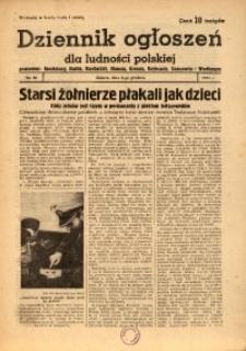 Dziennik Ogłoszeń Dla Ludności Polskiej, 1943, nr96