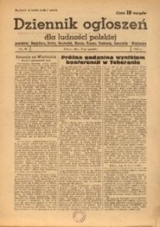 Dziennik Ogłoszeń Dla Ludności Polskiej, 1943, nr98