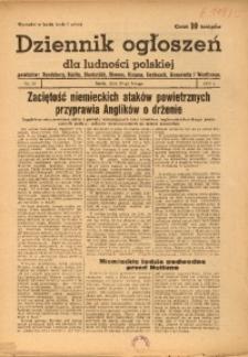 Dziennik Ogłoszeń Dla Ludności Polskiej, 1944, nr15