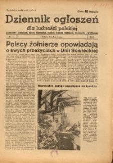 Dziennik Ogłoszeń Dla Ludności Polskiej, 1944, nr18