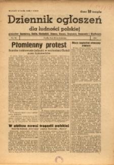 Dziennik Ogłoszeń Dla Ludności Polskiej, 1944, nr32