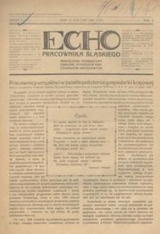 Echo Pracownika Śląskiego, 1929, R. 10, nr 3