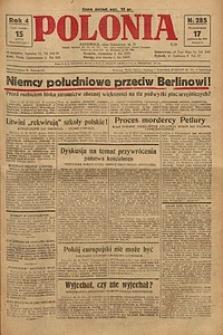 Polonia, 1927, R. 4, nr 285