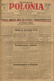 Polonia, 1927, R. 4, nr 299