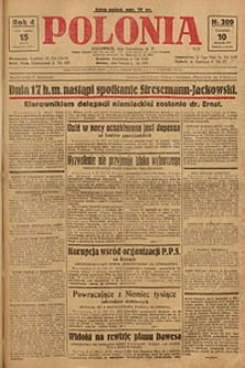 Polonia, 1927, R. 4, nr 309