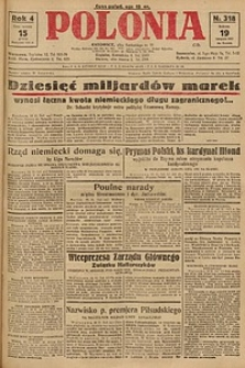 Polonia, 1927, R. 4, nr 318