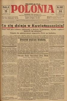 Polonia, 1927, R. 4, nr 327