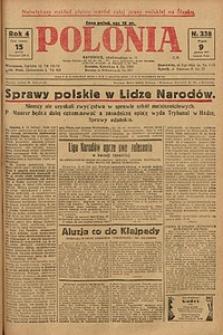 Polonia, 1927, R. 4, nr 338