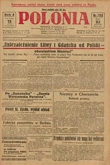 Polonia, 1927, R. 4, nr 352