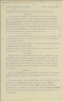 Postanowienie Komisji Międzynarodowej dotyczące prawa głosowania