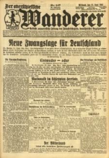 Der Oberschlesische Wanderer, 1924, Jg. 96, Nr. 147