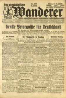 Der Oberschlesische Wanderer, 1924, Jg. 96, Nr. 165