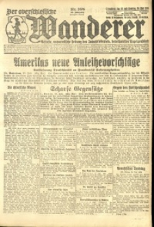 Der Oberschlesische Wanderer, 1924, Jg. 96, Nr. 168