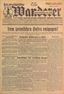 Der Oberschlesische Wanderer, 1929, Jg. 101, Nr. 74